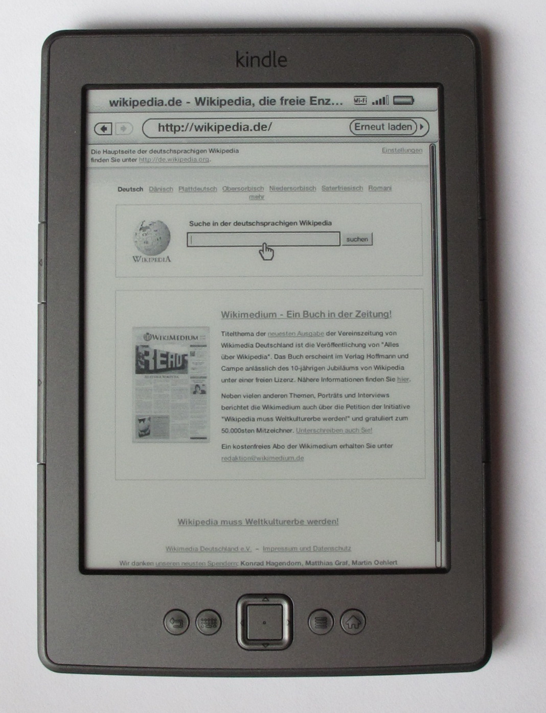 It can be used to read a PDF