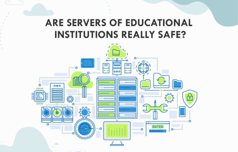 Servers of educational institutions in online learning
