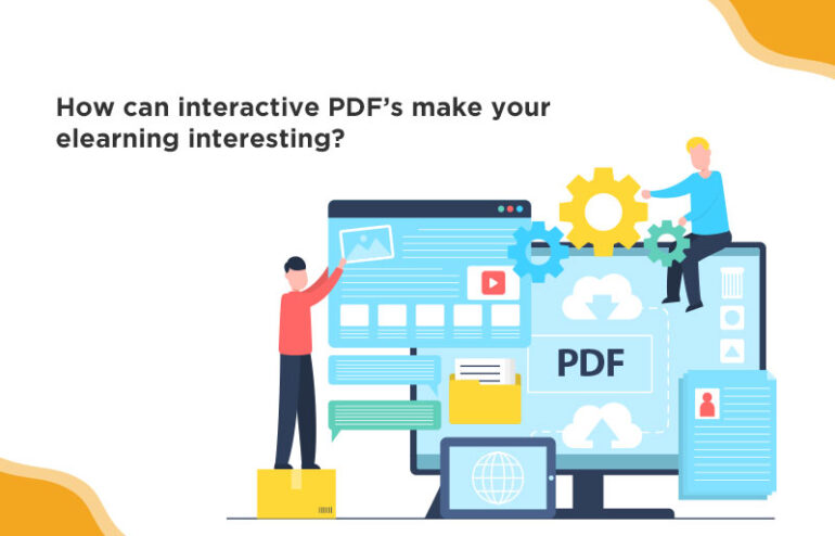 Interactive PDF's make your courses more interesting