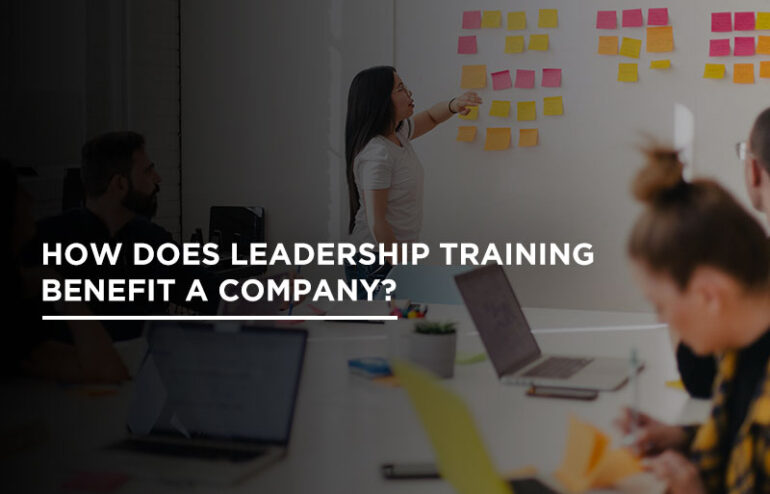 leadership learning in a company