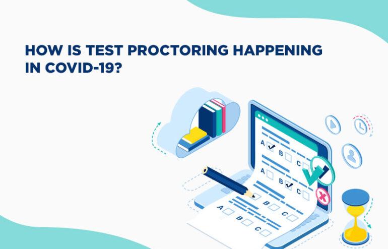 test proctoring in a proctored exam
