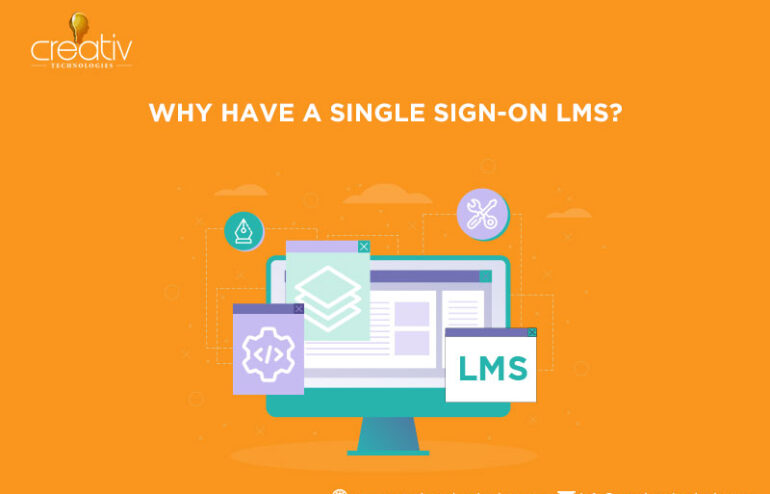 LMS with a single signon