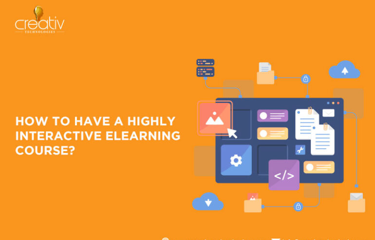 How can interactivity be increased with authoring tools