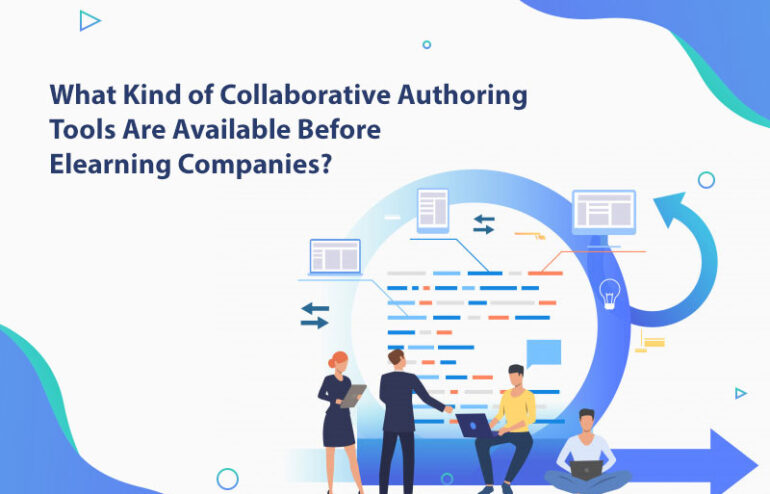 Collaborative authoring tools for elearning companies