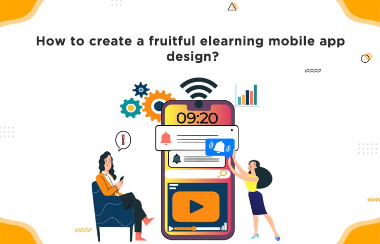elearning mobile app design